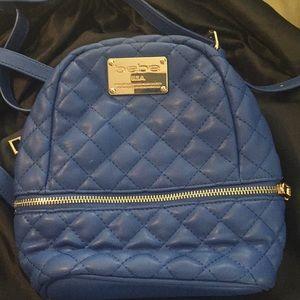 Bebe mini backpack royal blue convertible